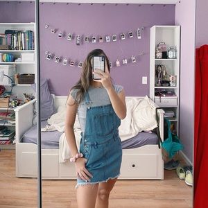Brandy Melville jean overalls!!
